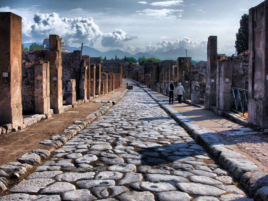 MUSEO DI PIETRARSA - CATACOMBE DI SAN GENNARO -POMPEI CON LE NUOVE DOMUS