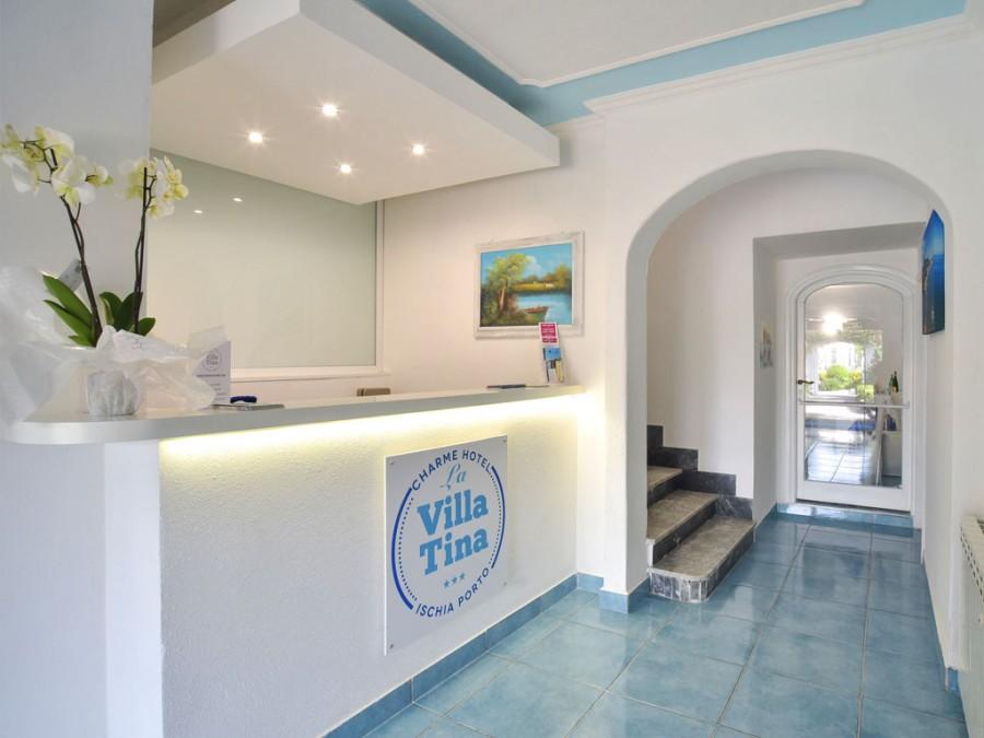 Hall Charme Hotel Terme Villa Tina