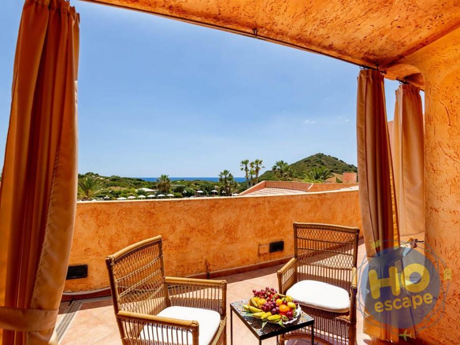 Sant'Elmo Beach Hotel Esterno Camera Deluxe Vista Mare