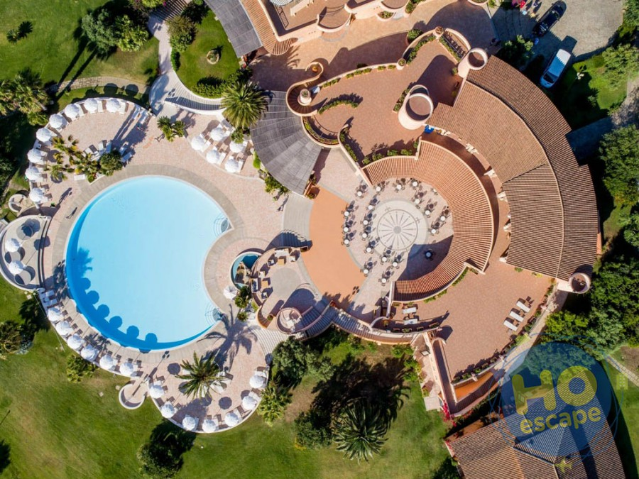 Sant'Elmo Beach Hotel Panoramica Struttura Drone