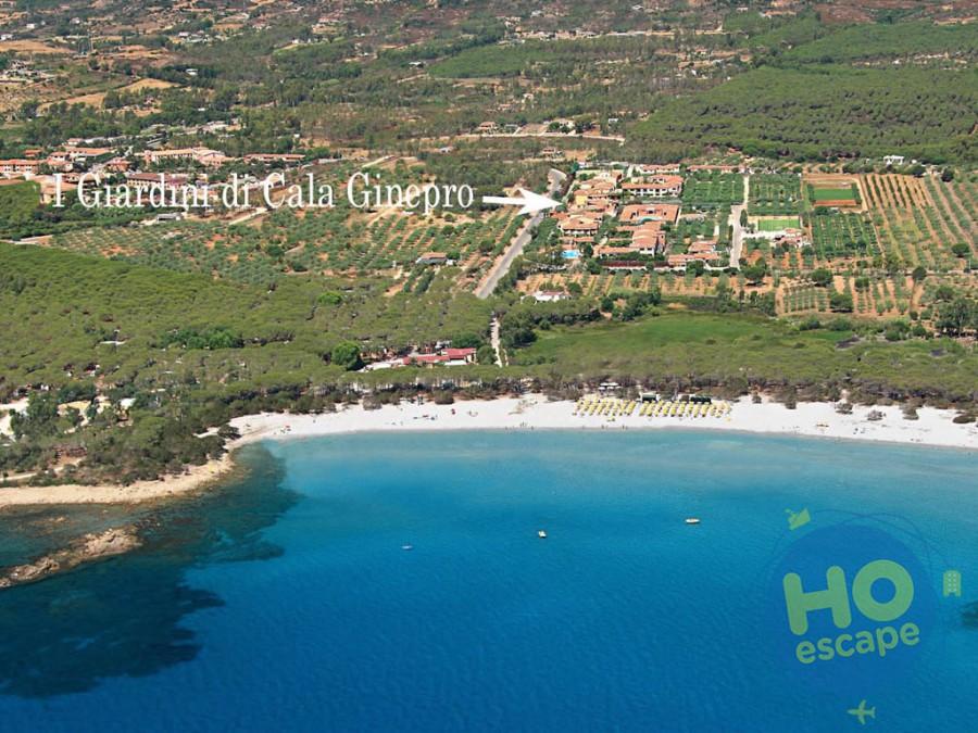I Giardini di Cala Ginepro Hotel Resort Posizione del Resort