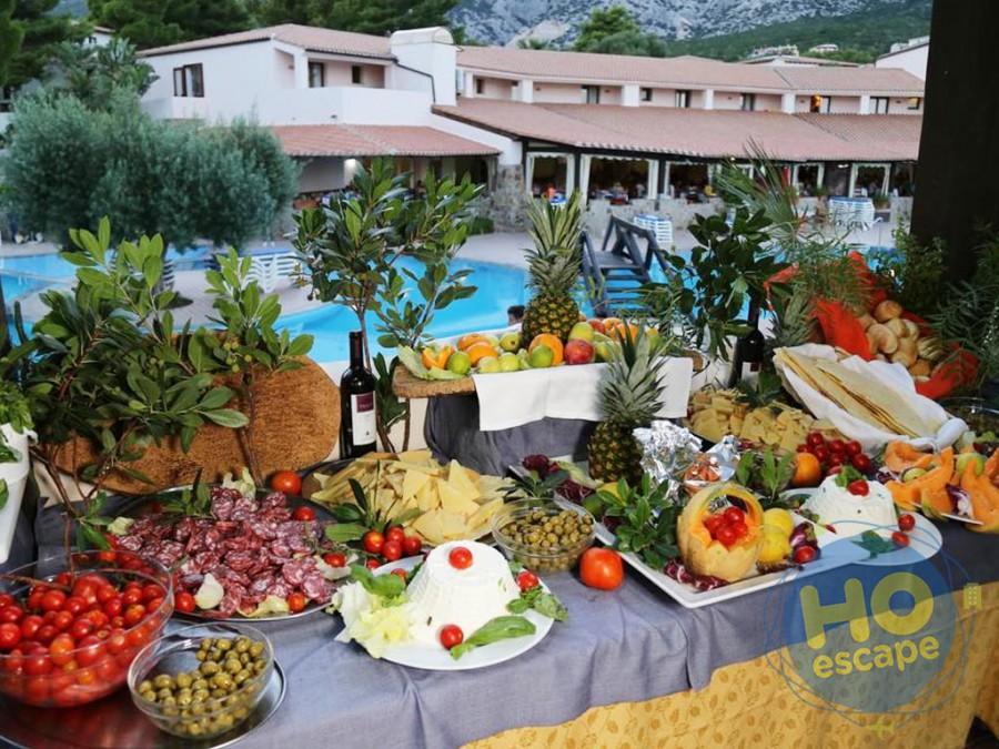 Club Esse Cala Gonone Il Buffet