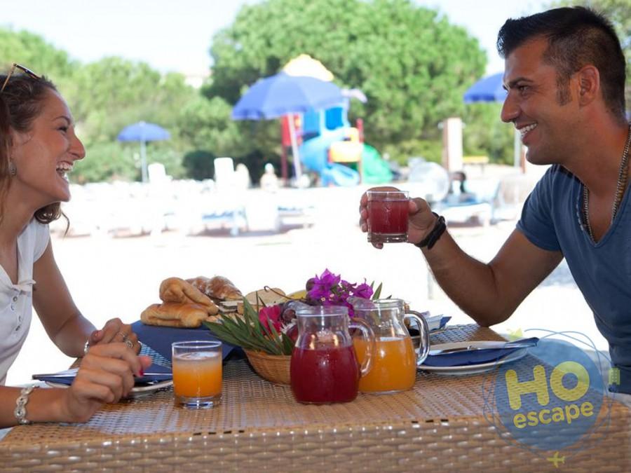Club Esse Gallura Beach Colazione a Borgo Piscina