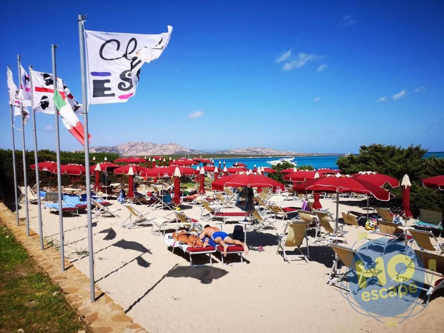 Club Esse Roccaruja La Spiaggia Privata