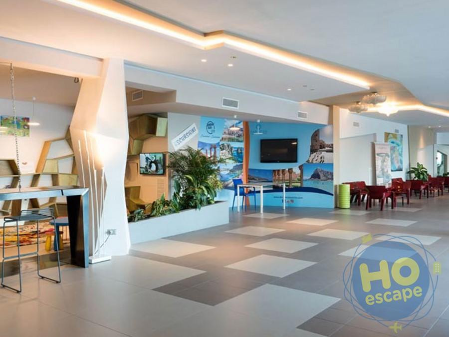 Saracen Hotel & Congress Center Corridoio principale della Hall