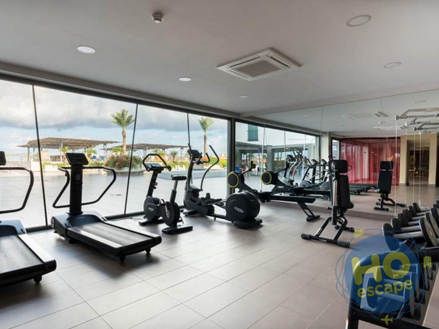 Saracen Hotel & Congress Center Area Fitness