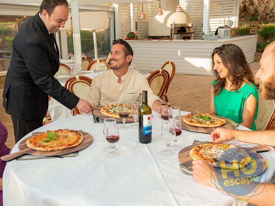 Pollina Resort Pizza Party