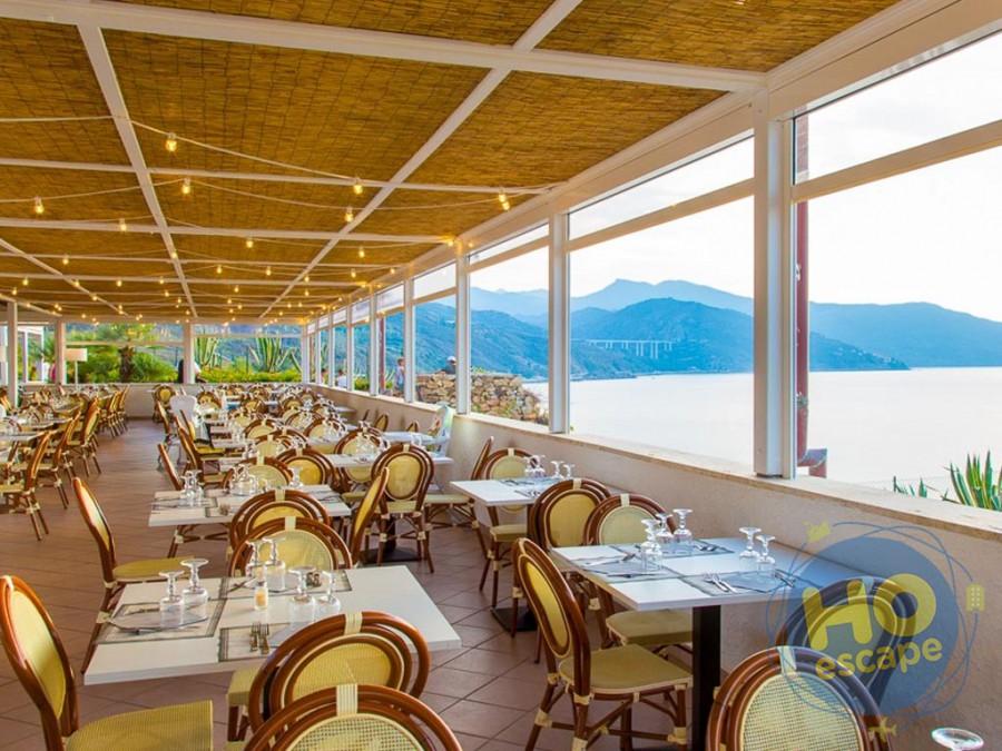 Pollina Resort Sala Ristorante Panoramica