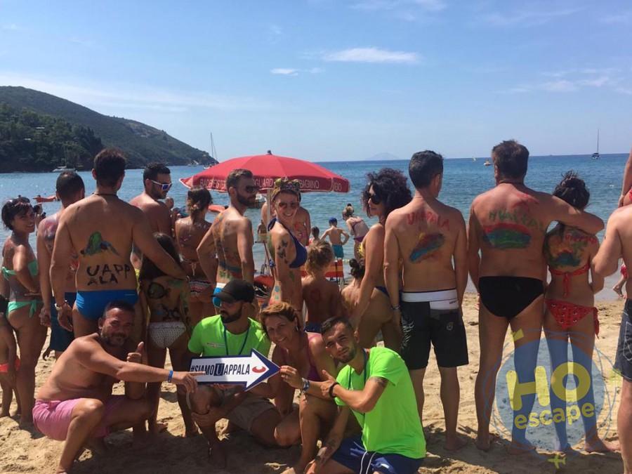 Uappala Hotel Lacona Animazione in Spiaggia