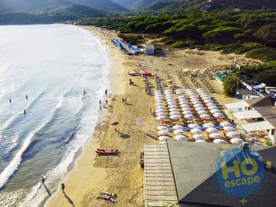 Uappala Hotel Lacona spiaggia