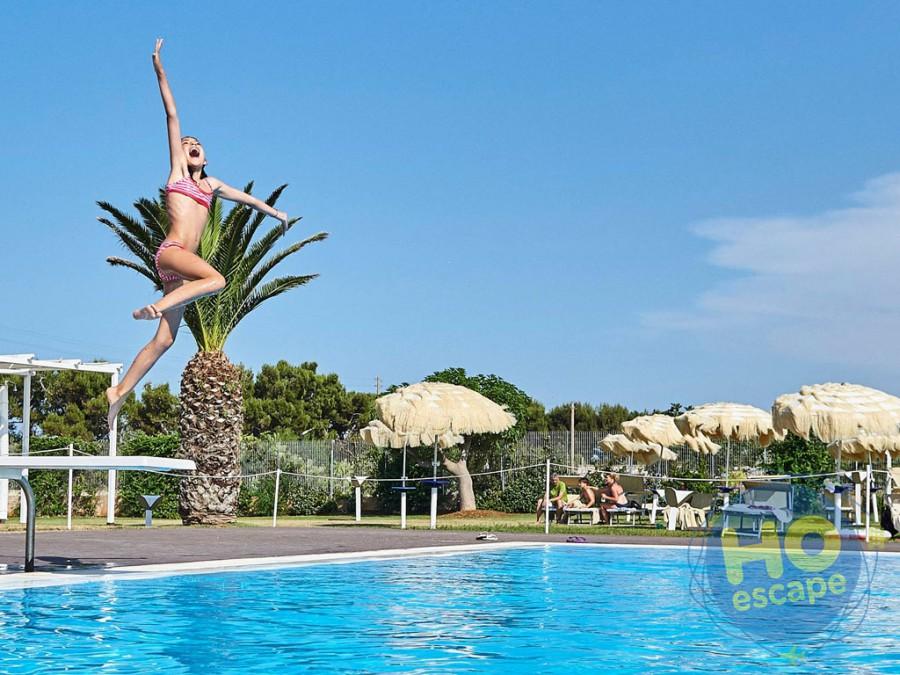 Pietra Blu Resort & SPA Piscina per bambini con trampolino per i tuffi e giochi acquatici