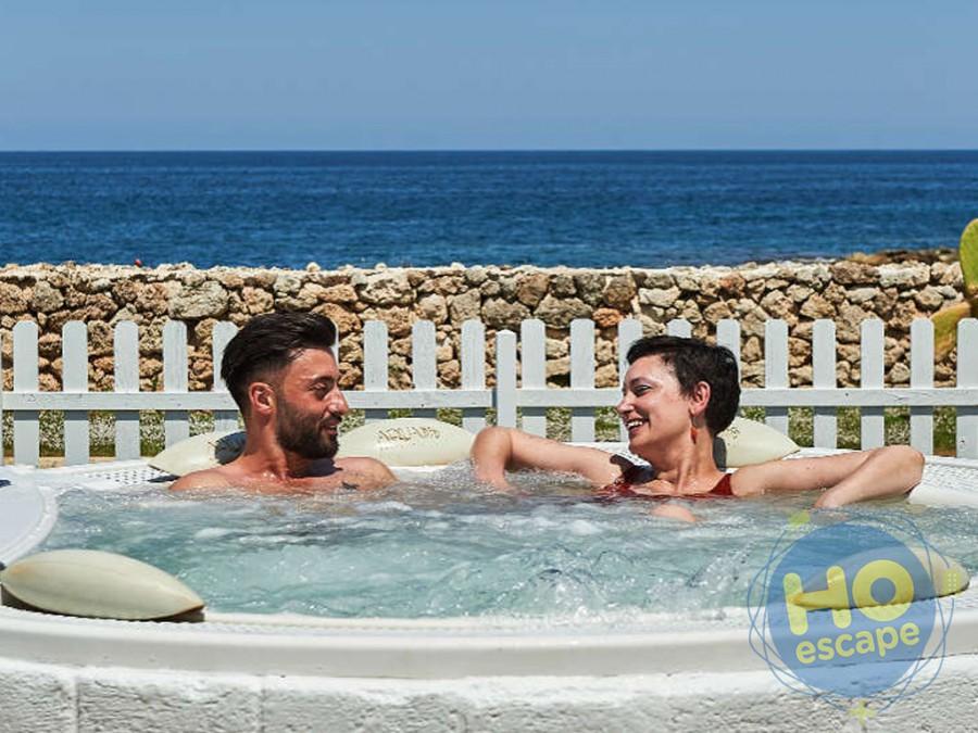 Pietra Blu Resort & SPA Relax in Jacuzzi vista mare