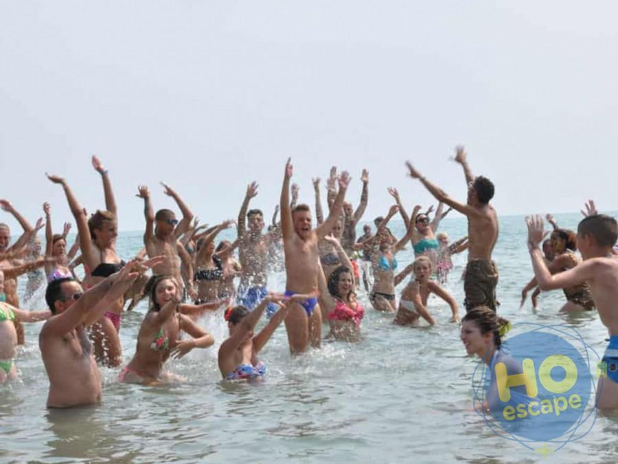 Villaggio Club Portogreco Animazione in Spiaggia