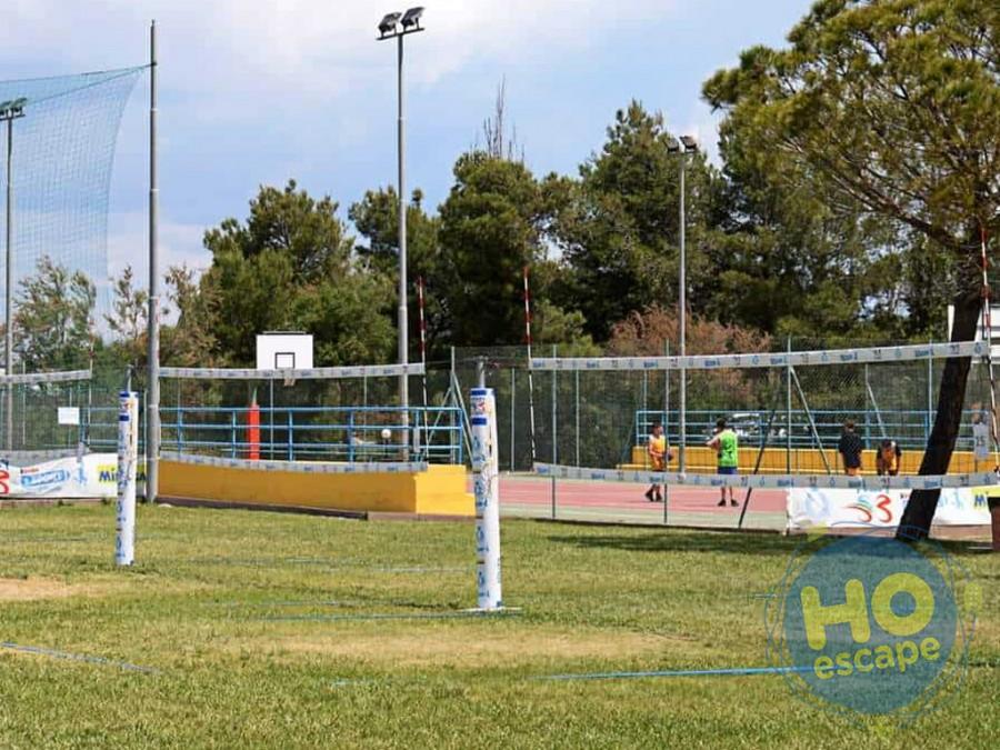 Villaggio Club Portogreco Campi da Tennis