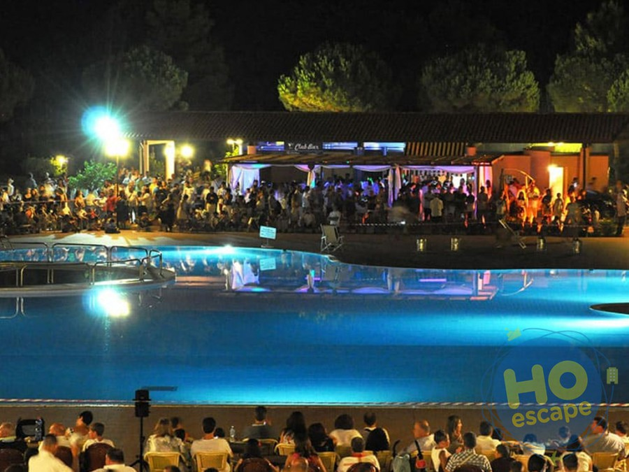 Villaggio Club Portogreco Intrattenimento, Spettacoli Serali