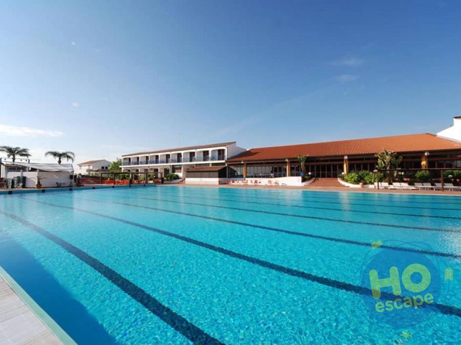 Hotel Club Santa Sabina Piscina Olimpionica