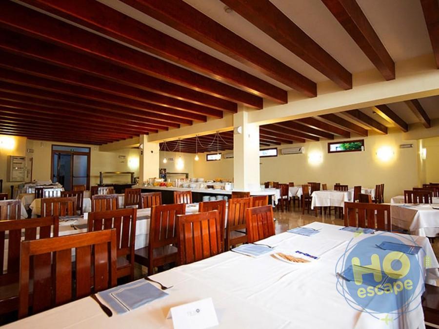 Ticho's Hotel La sala Ristorante