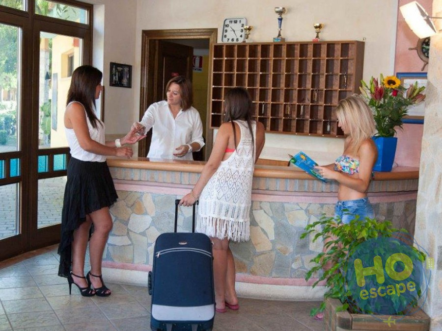 Villaggio Club Holiday Beach  La Reception del Villaggio