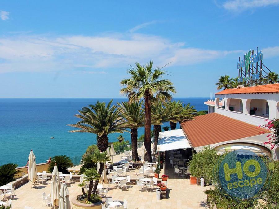 Hotel Terme Royal Palm La terrazza panoramica