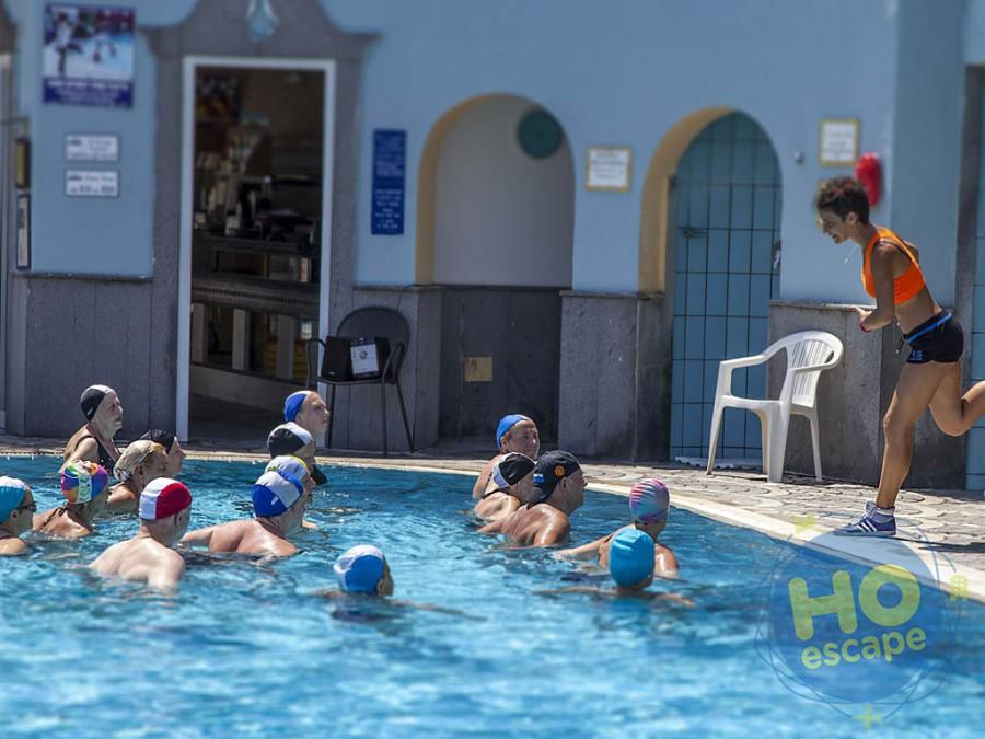 Club Hotel President Intrattenimento, attività in piscina