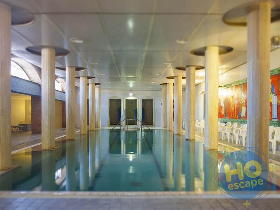 Club Hotel President La piscina coperta