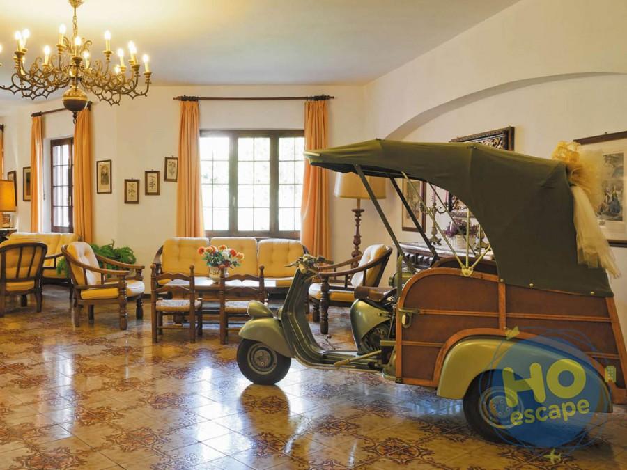 Hotel San Valentino Terme Esposizione di d'epoca Hall nostra Hall l''Ape Calessino