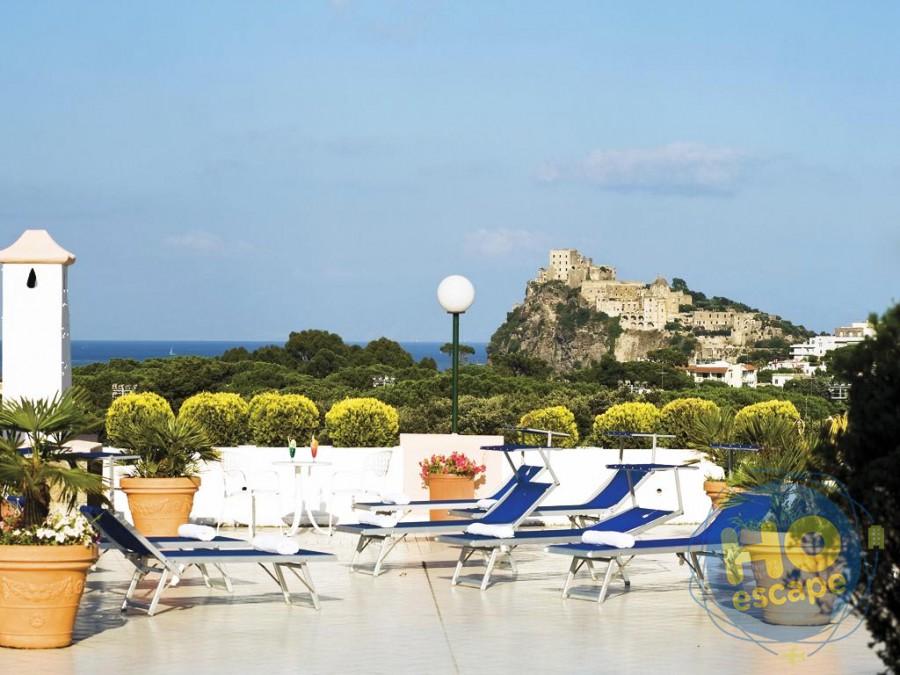 Hotel Bellevue Benessere & Relax Terrazza solarium panoramica