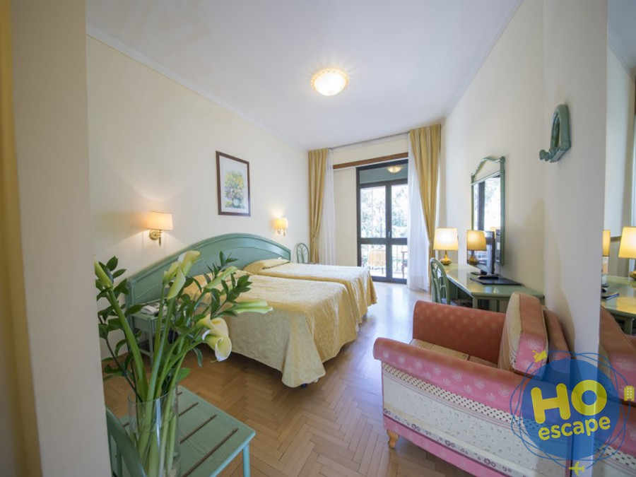 Camera Superior Hotel Terme Milano