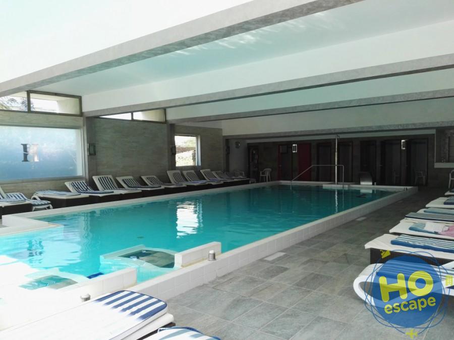 Piscina Interna Hotel Terme Milano