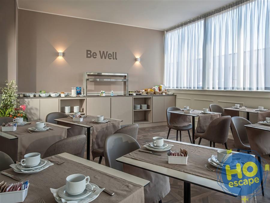 Sala colazione Hotel Bristol Buja
