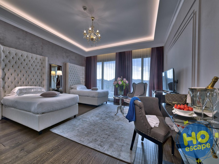 Camera doppia Hotel President Terme Abano
