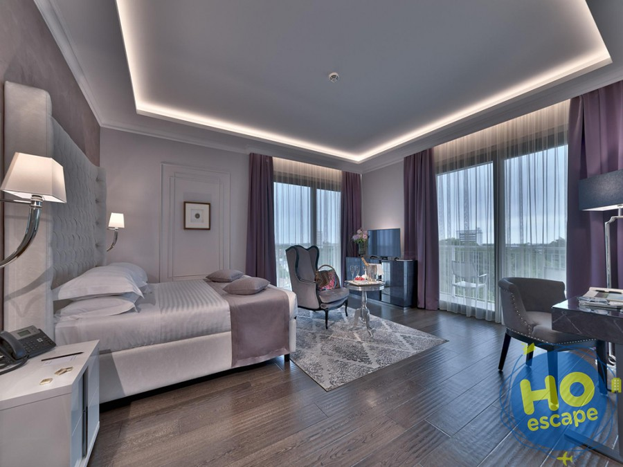 Camera Panoramica Hotel President Terme Abano