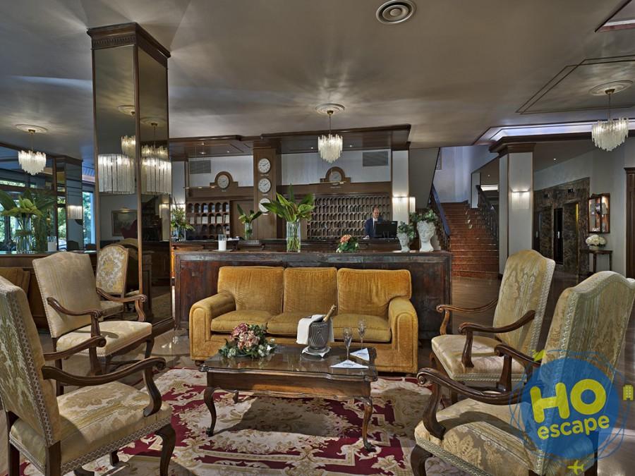 Hall Hotel President Terme Abano