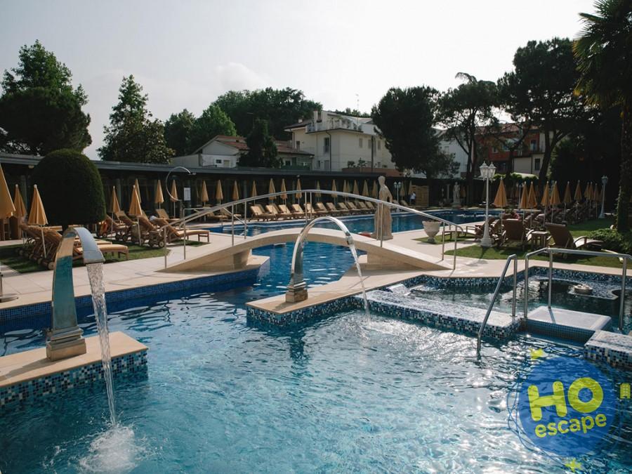 Piscina Esterna Hotel President Terme Abano