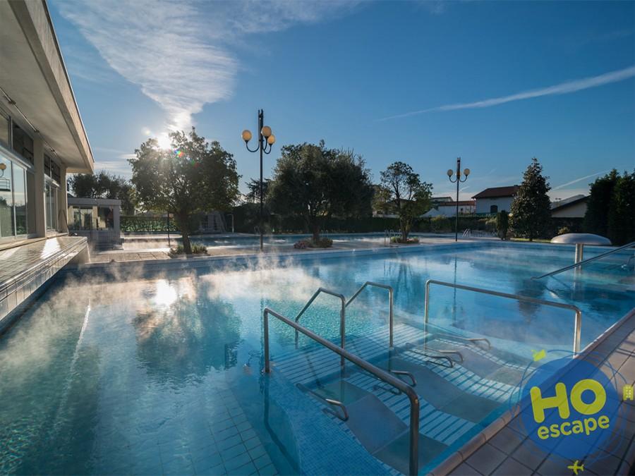 Piscina esterna termale Hotel Terme Antoniano