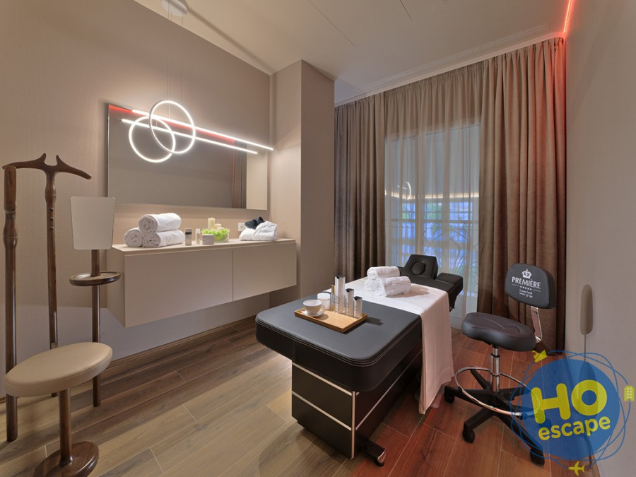 Lettini massaggio Spa Première Luxury Hotel Terme & SPA