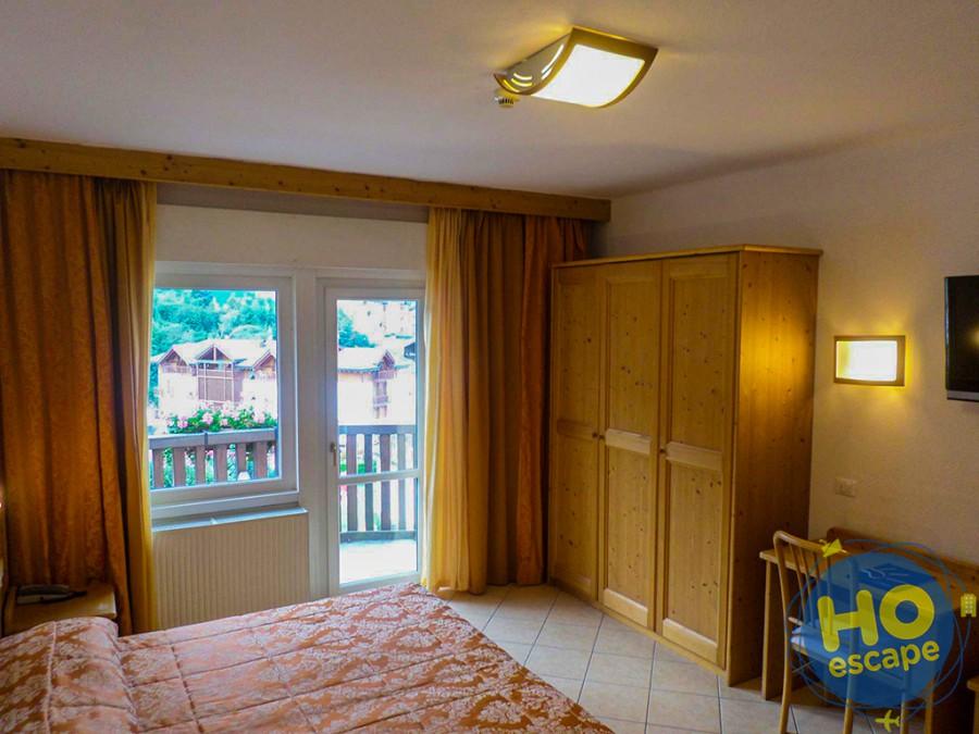 Camera matrimoniale Standard dell'Hotel Andalo